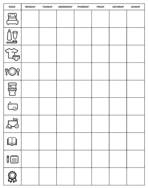 Mom   best network minimalist chore chart for kids also homeschool rh pinterest