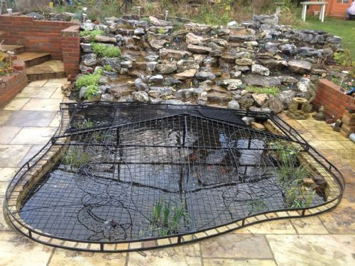 Elite pond covers metal fabrication company in for Koi pond builders uk