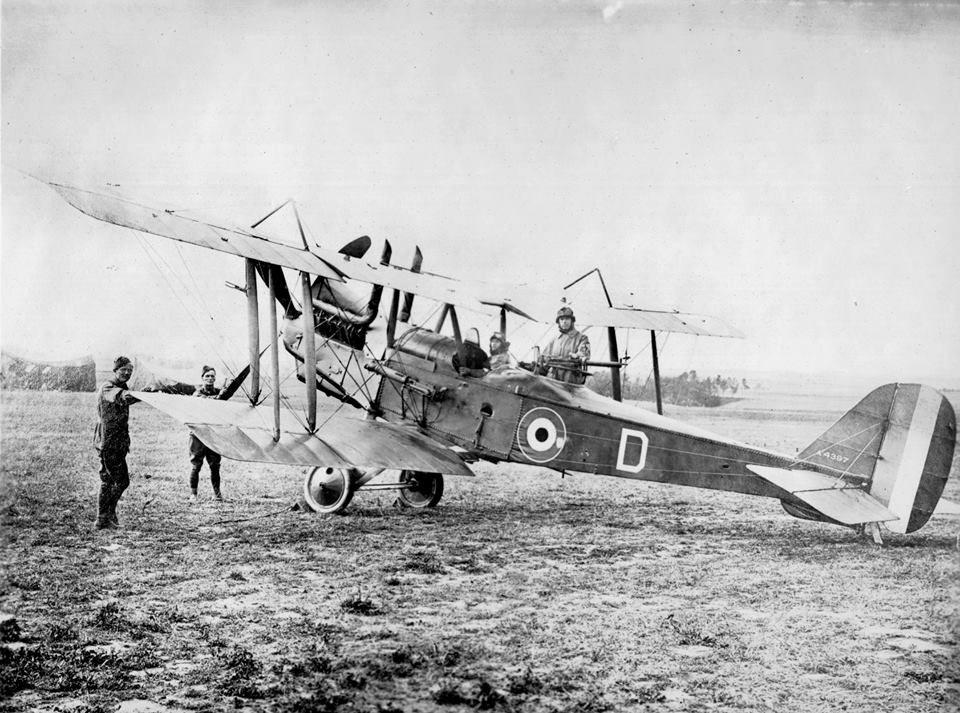 R.E. 8 3 squadron AFC Air force bomber, Royal air force