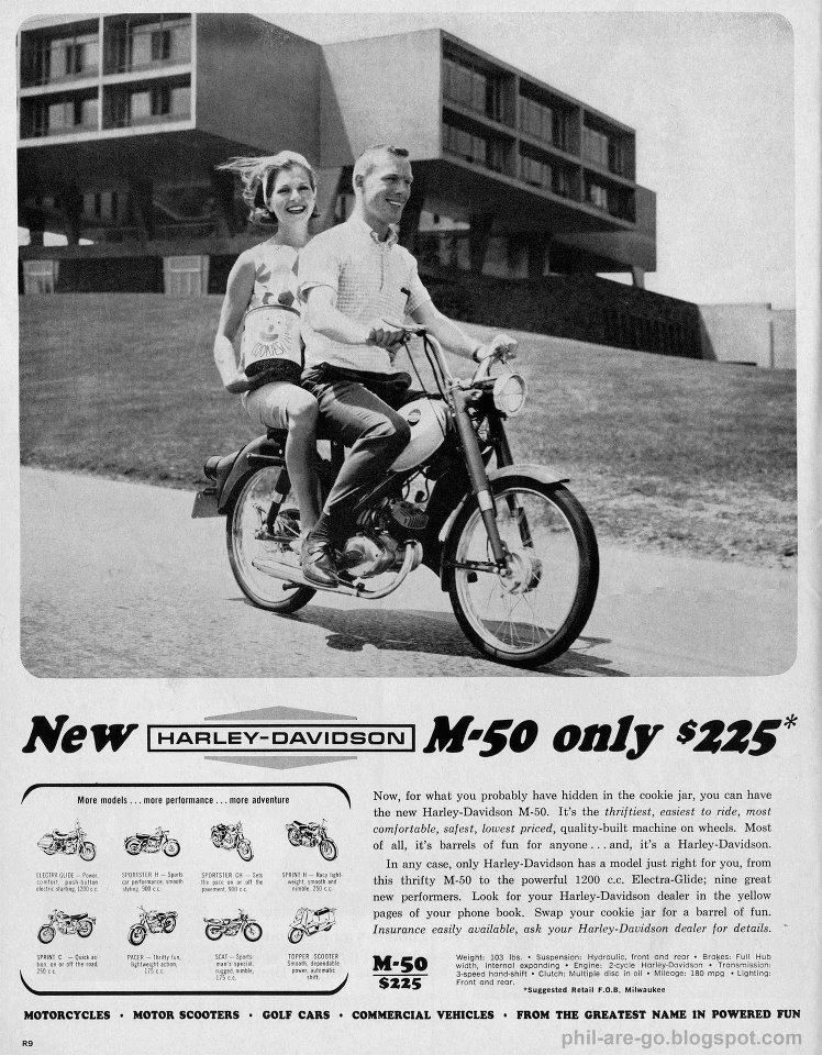 Back in the day, a Harley only cost you $225!