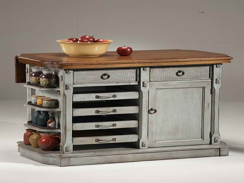 rustic kitchen islands. island buffet table diy pallet made,Rustic Kitchen Island On Wheels,Kitchen decor