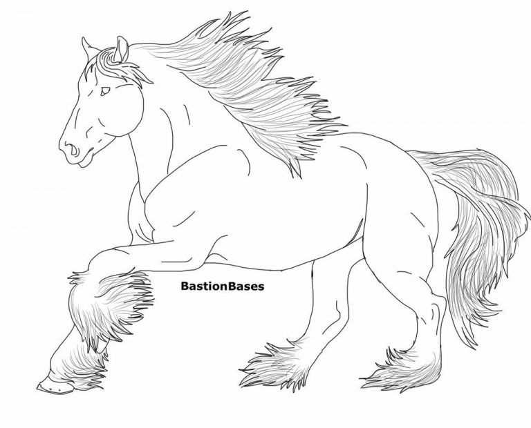 Horse Coloring Within Download Clydesdale Horse Coloring Pages Horse Coloring Pages Horse Coloring Coloring Pages