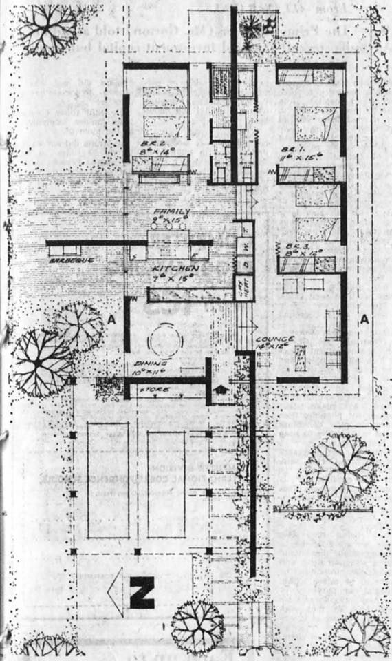 14716206 10154663244661803 1350860660024588052 N Jpg 570 960 Drawing House Plans Architectural Floor Plans Courtyard House Plans