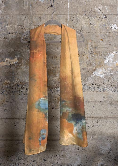 Cashmere Silk Scarf - Cafshmere silk bw by VIDA VIDA llhFq