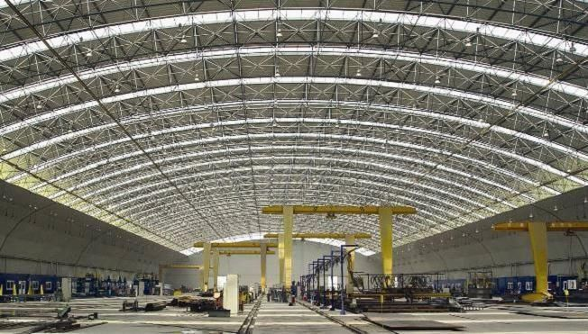 Open Steel Frame Building : Reasons that make large span structure an ideal choice for