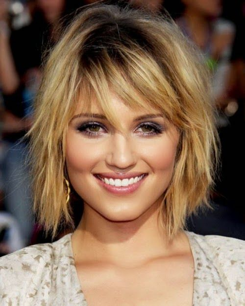 Short Hairstyles for Square Face for women 7-min | Hair 11/17 ...