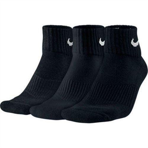 Nike Herren Socken 3PPK DRI FIT Cushion Crew, Schwarz, L