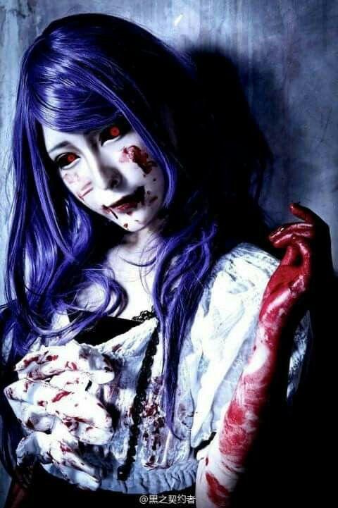 Rize Kamishiro / Cosplay / Tokyo Ghoul