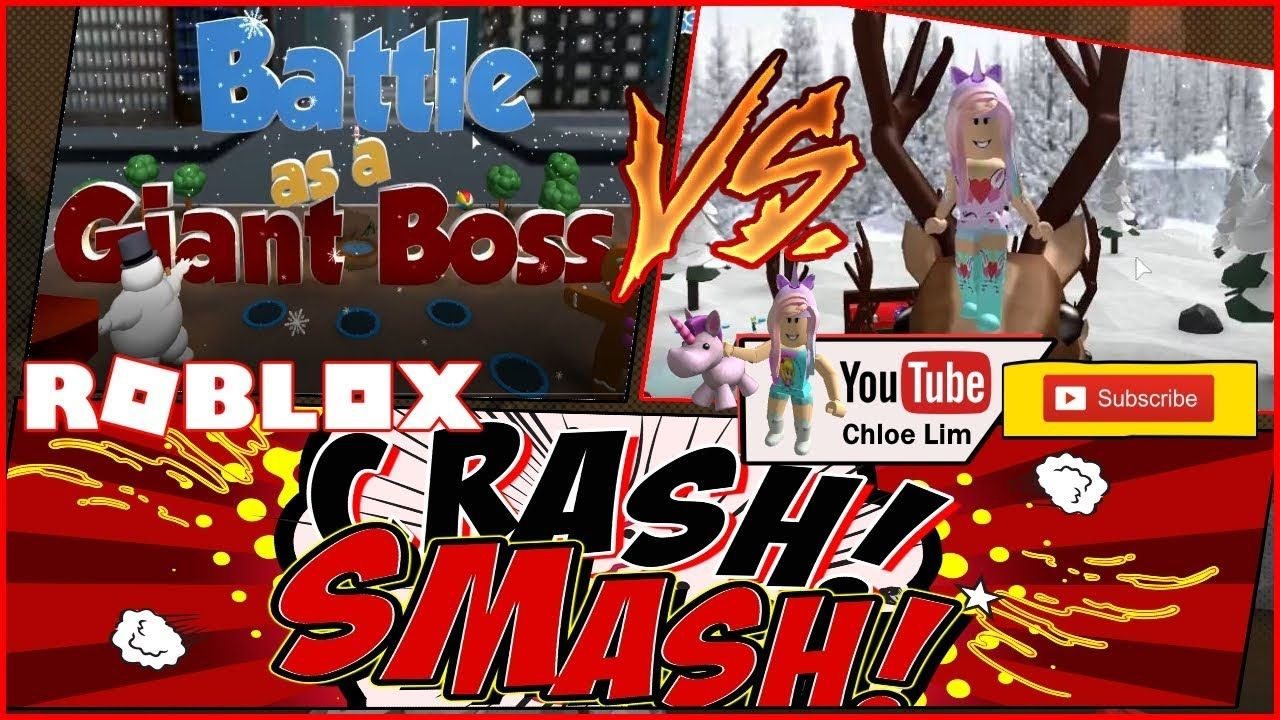 Roblox Battle As A Giant Boss! 1 Vs 1 With all the GIANT