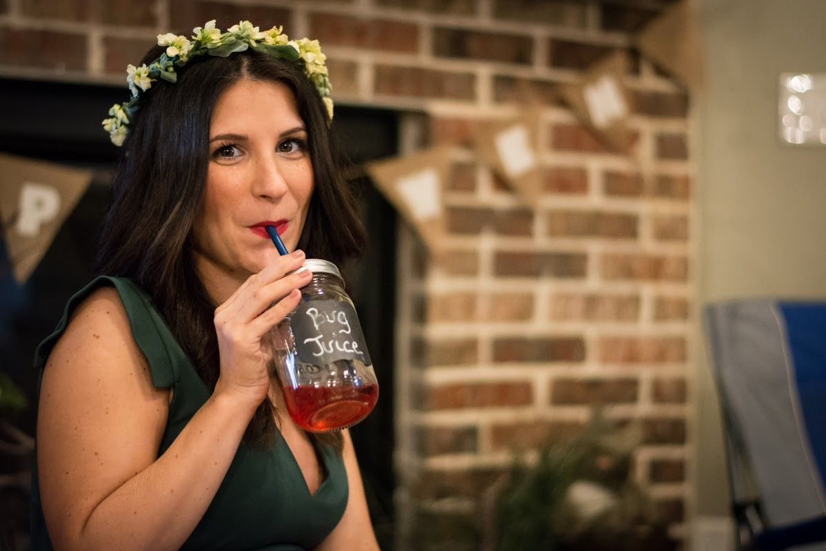 Camping Themed Baby Shower - Bug Juice