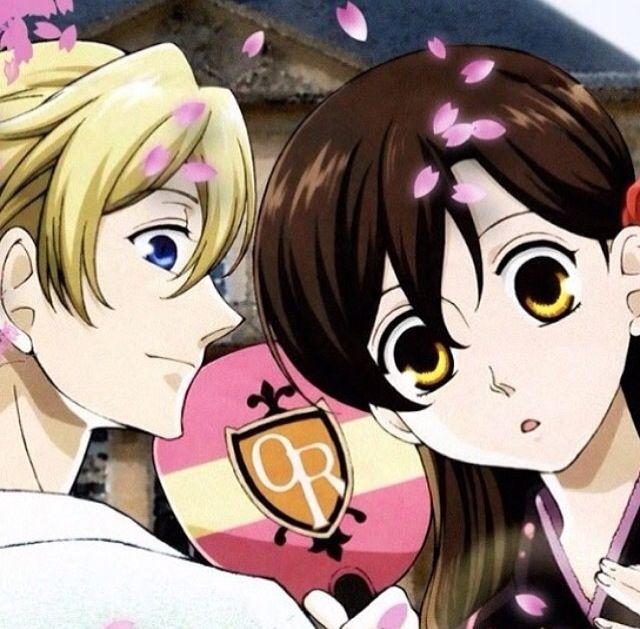 Haruhi Has Long Hair High School Host Club Host Club Anime Ouran High School Host Club