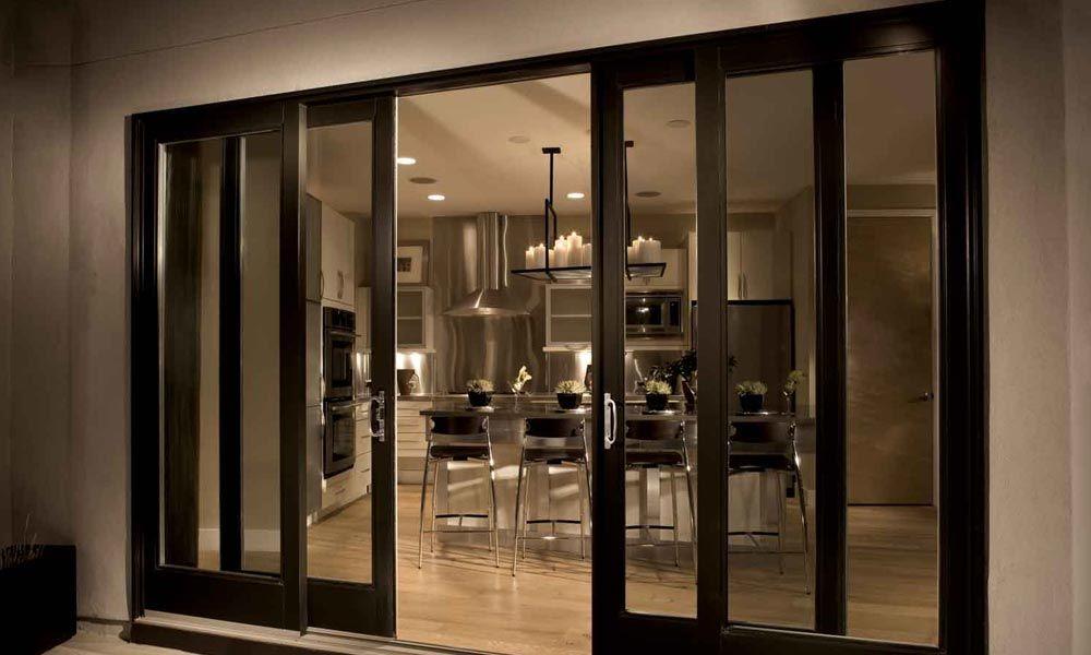 سلائیڈنگ دروازوں اور کھڑکیوں کی تعمیر Sliding doors