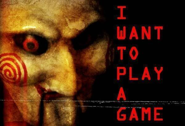 Jigsaw Saw Quotes I Want To Play A Game Images Saw In 2019