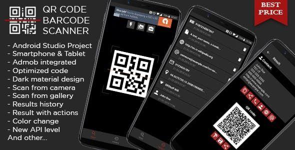 Description QR & Barcode Scanner complete app for best