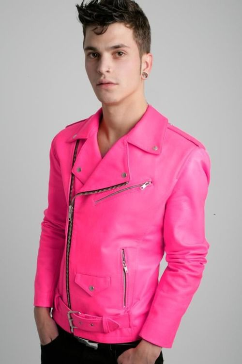 pink pleather jacket | Quirk | Pinterest | Jaket dan Merah muda