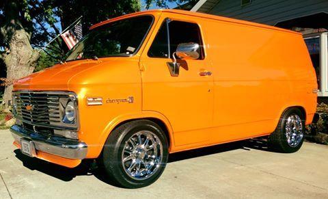 Clean Vans Cool Chevy Van Vintage Car Conversion Mini Custom Life