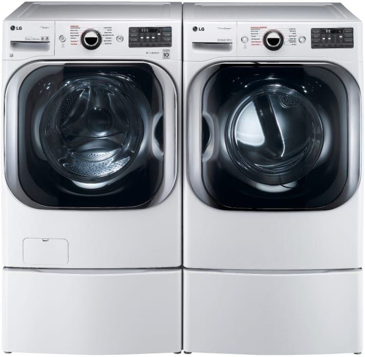 Lg Lgwadrew8101 Side By Side Gas Dryer New Washer And Dryer