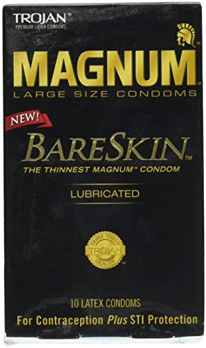 Trojan Magnum Bareskin Lubricated Condoms 10 Count You Can Get More Details By Clicking On The Image Condoms Magnum Bareskin Trojan Condoms