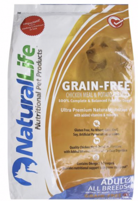 Natural Life Pet Products Issues Recall Of Dry Dog Food Due To