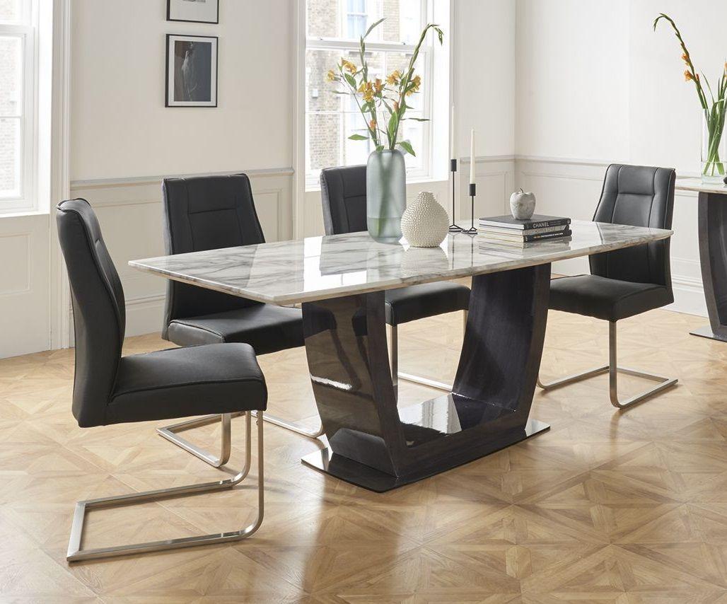 Arianna Cream 180cm Marble Dining Table Ari 180 Cr N Morale Home Furnishings Morale Home Furnishings Muebles De Acero Muebles Acero