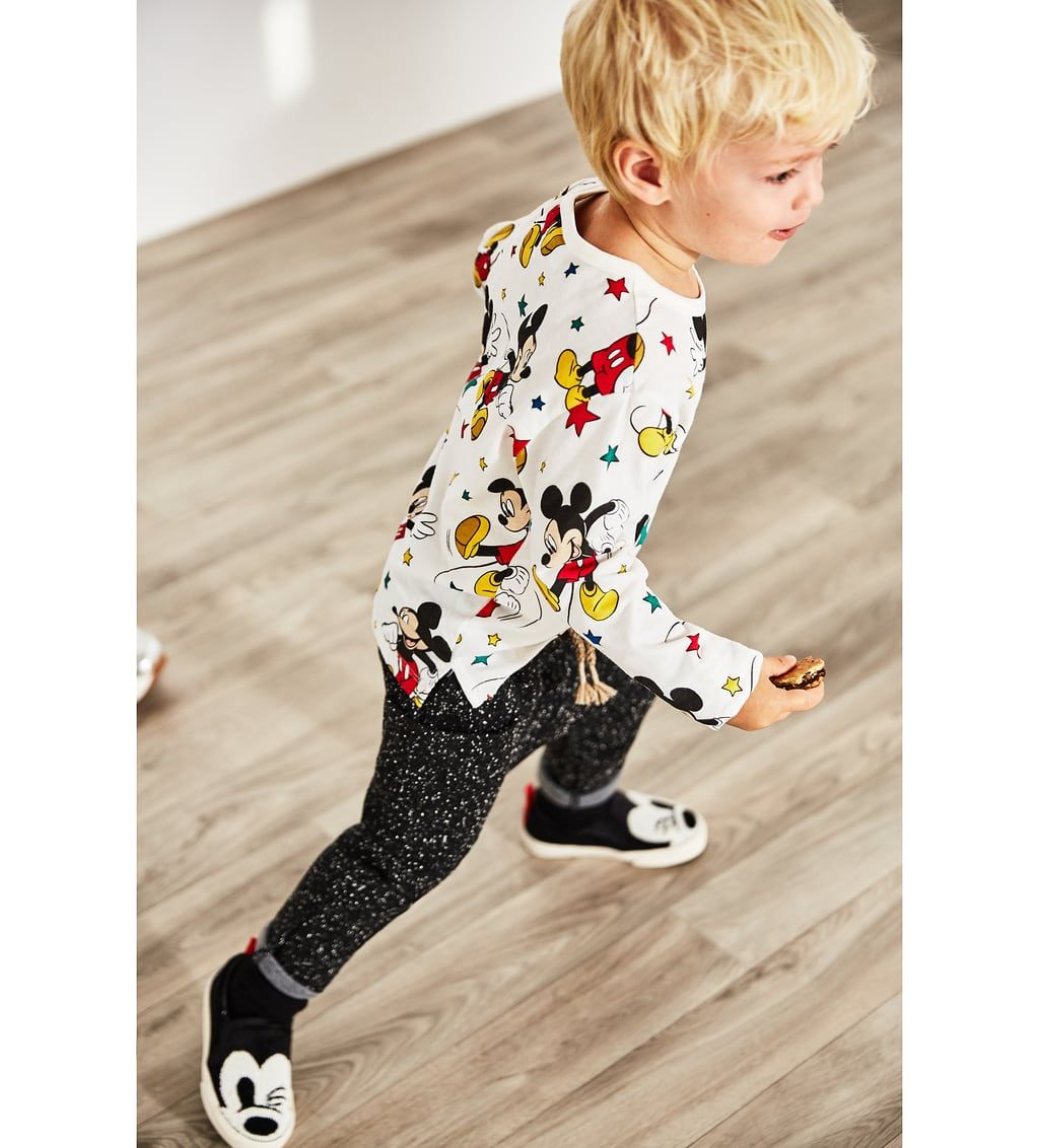4cb5e6d6 Image 1 of MICKEY MOUSE TOP from Zara | tees/trend BOY | Mickey ...
