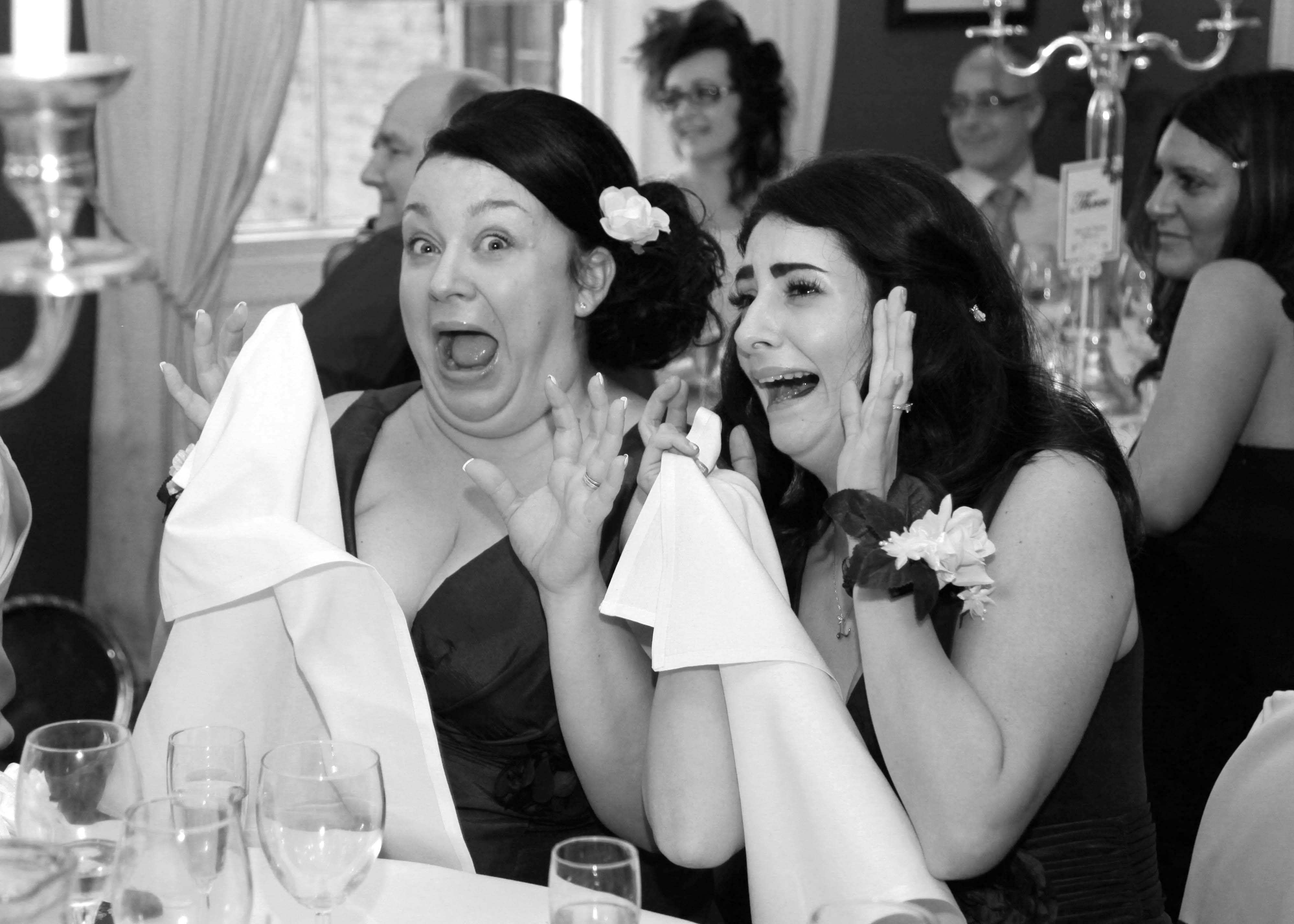 Fun Relaxed Black And White Wedding Photography At Rowley Manor By Leading Social Photographer Stephen Armishaw