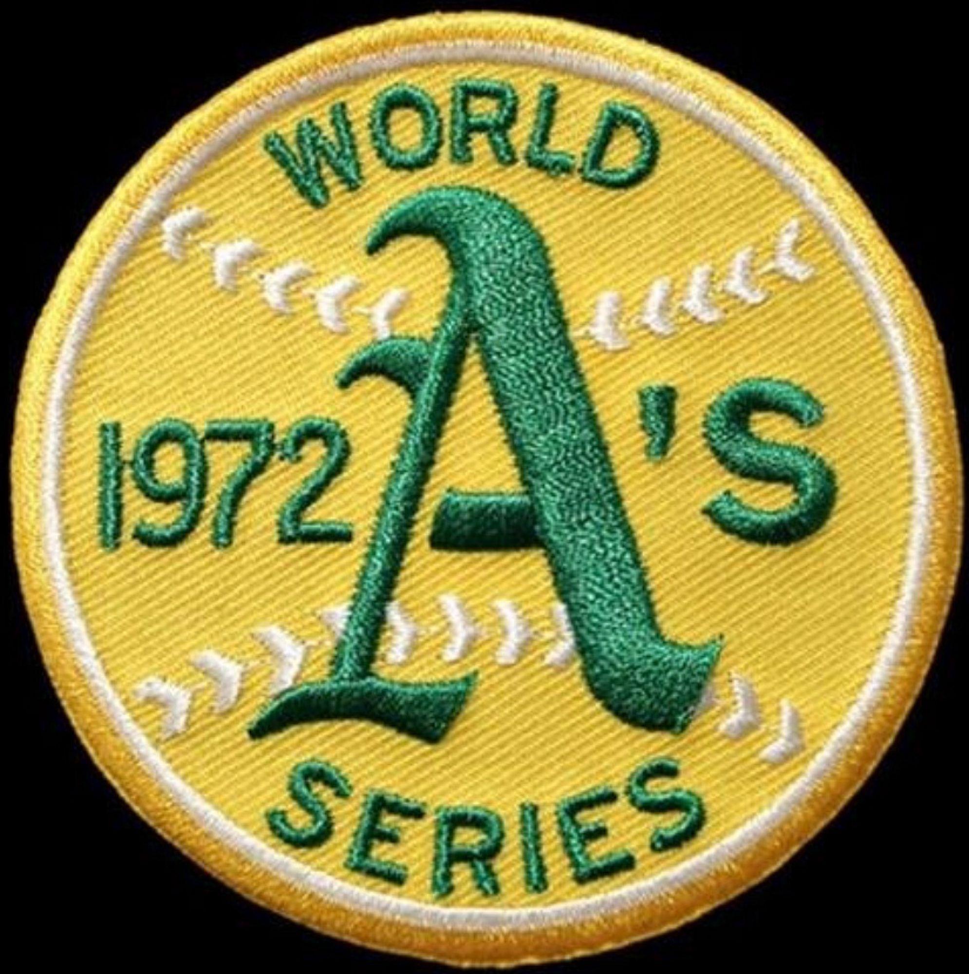 Oakland Athletics 1972 World Series Patch '
