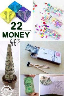 Money gift ideas for kids for christmas