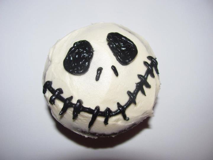 Jack Skellington cupcakes | Cupcake birthday cake ...
