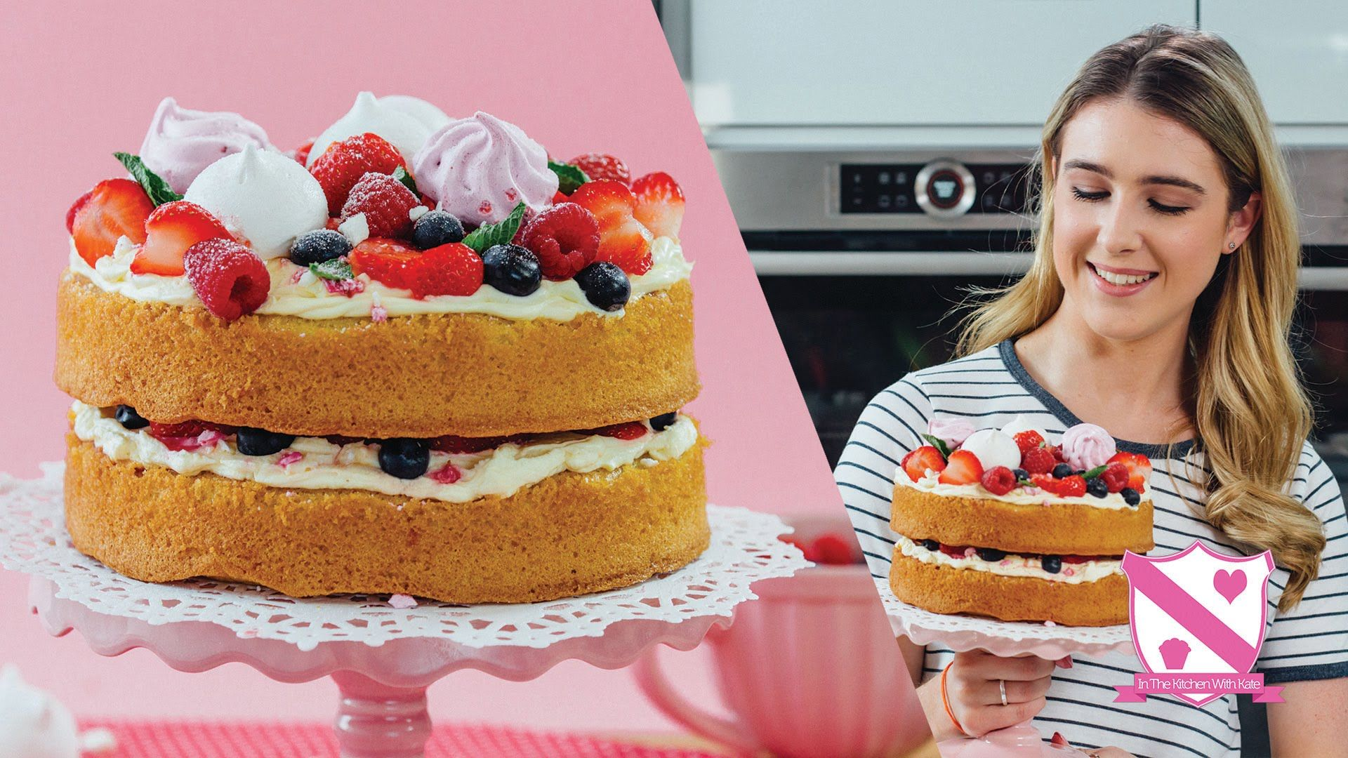 Eton Mess Cake In The Kitchen With Kate Cooking Baking