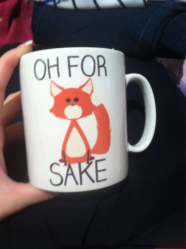 I bought myself a new work mug :)