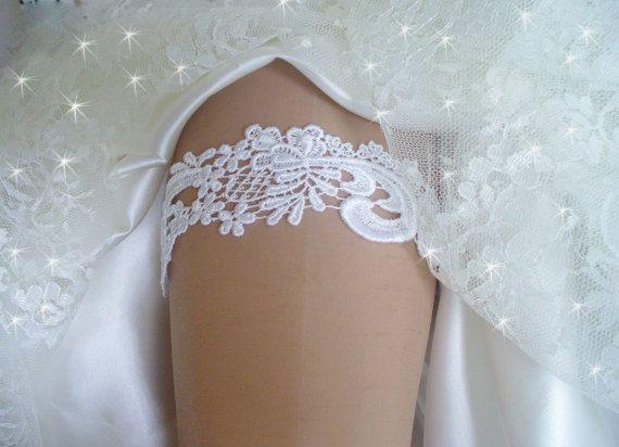 Wedding Garter Venise Lace Bridal Belts Garters Garder