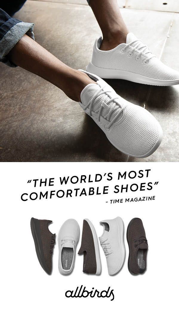 most comfortable shoes in the world