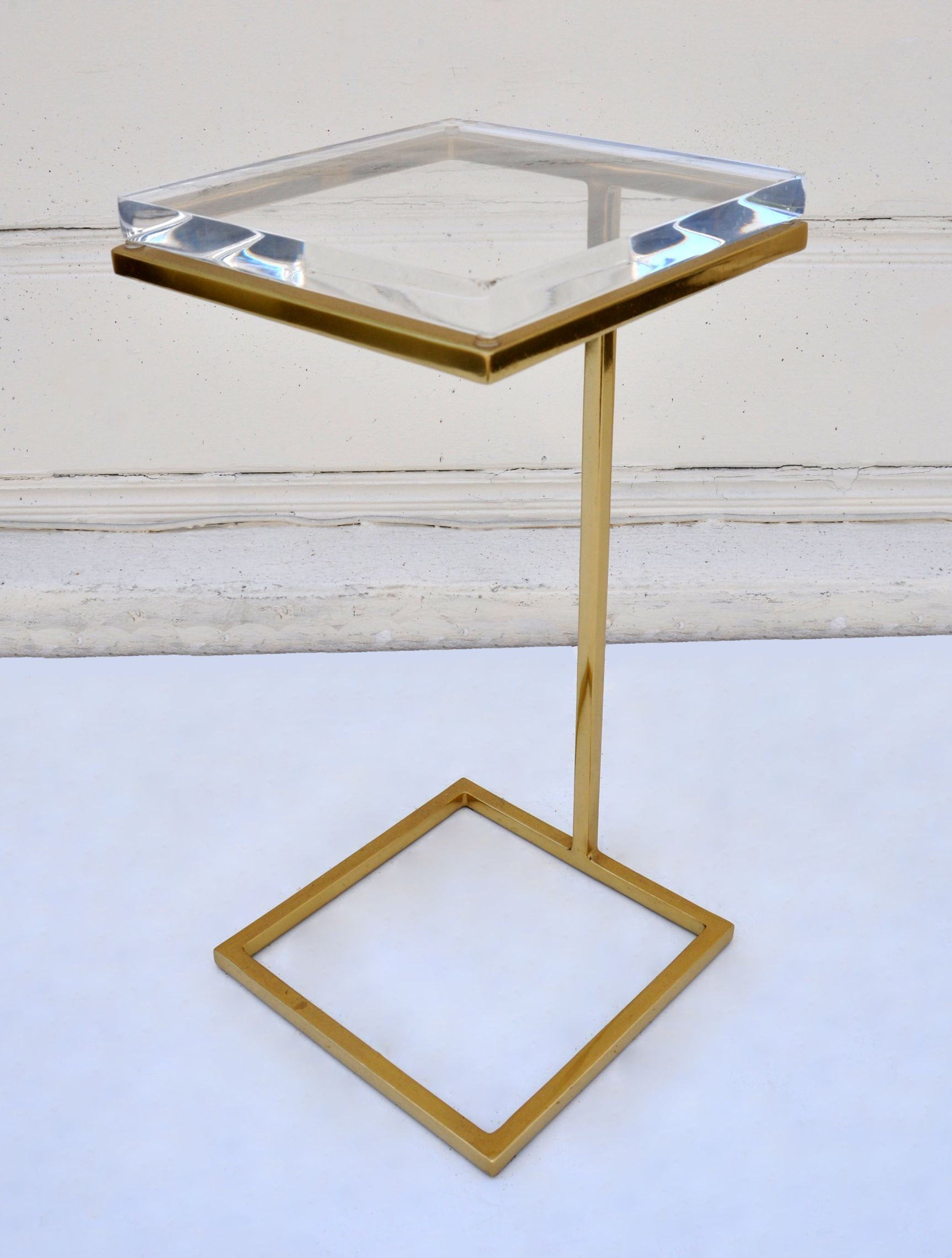 Lovely Acrylic Martini Side Table
