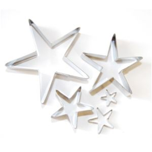 Lindy Smith Set of 5 Stylish Star Cutters £19.70