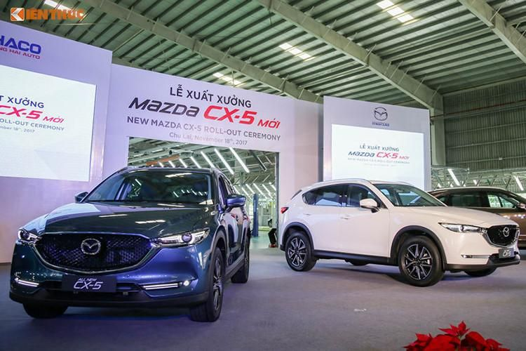 Chưa kịp bán Mazda CX-5 2018 đã mở đợt giảm giá