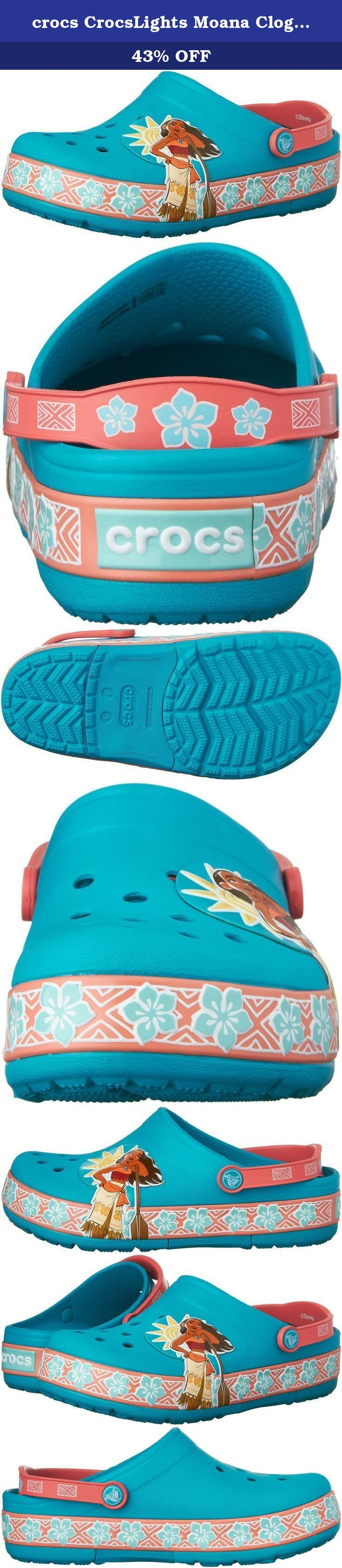af567a13d5e17d crocs CrocsLights Moana Clog (Toddler Little Kid)