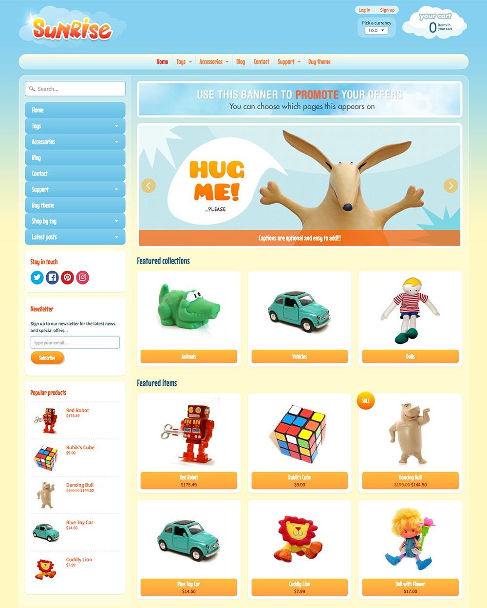 ecommerce web templates