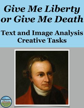 patrick henry give me liberty or death speech