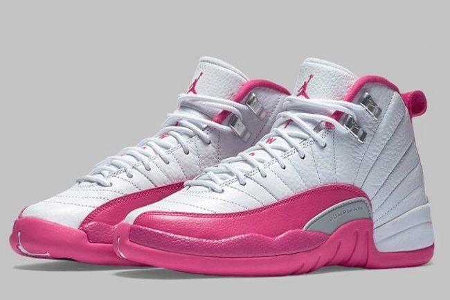 80c3432791f201 air jordan 12 dynamic pink