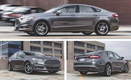 Ford Fusion Anium 2 0l Ecoboost Awd Test Review Car And Driver