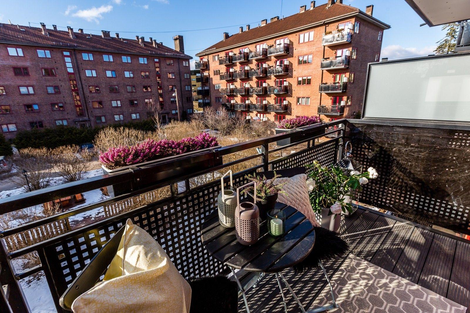 FINN – Bjølsen/Nydalen - Flott 3-roms. Vestvendt balkong. Attraktivt i rolige omgivelser. Fyring og v.vann inkl.