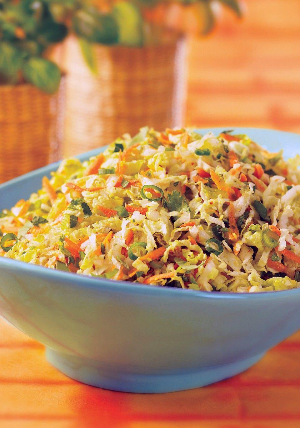 Crunchy colorful thai cabbage salad recipe cabbage