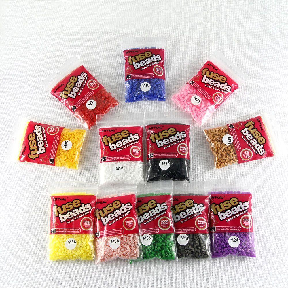 ARTKAL BEADS - MB1000-55 Mini M-3mm Artkal beads 1000pcs/bag 1lot=55bag
