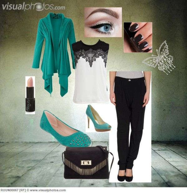 """elegant turquiose"" by kimberly-nowak-schuch on Polyvore"