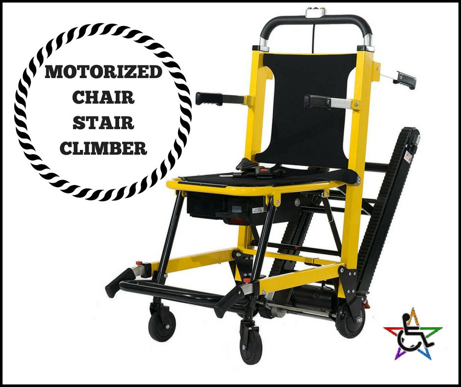 If you think about it this motorized chair stair climber
