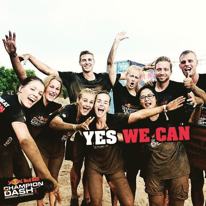 5 more days till the #championdash #obstaclecourse #race #teamwork #funrun #funtimes