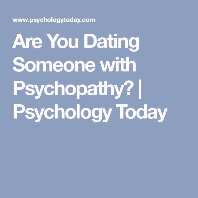 dating a man with antisocial personality disorder