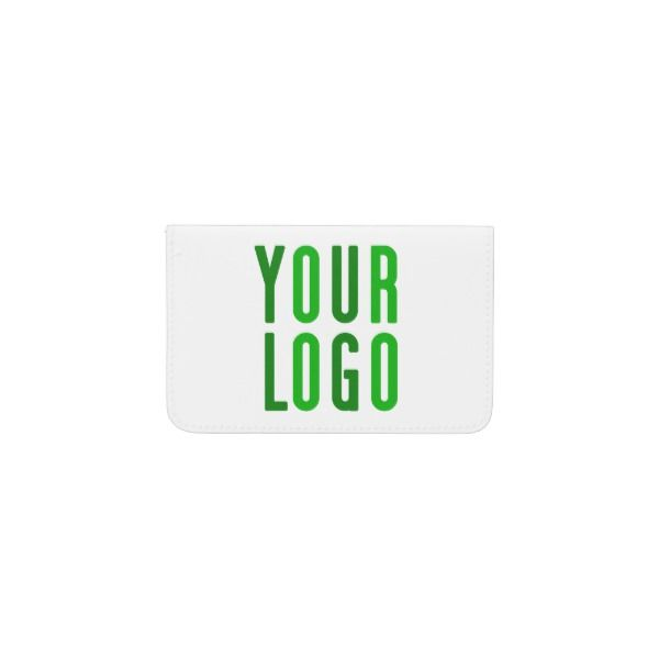 Promotional your company or event green logo business card holder promotional your company or event green logo business card holder reheart Images