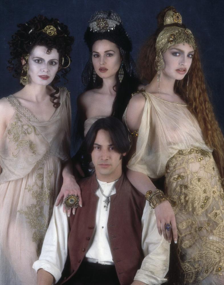 Jonathan and Dracula's Brides from Bram Stokers Dracula, 1993.
